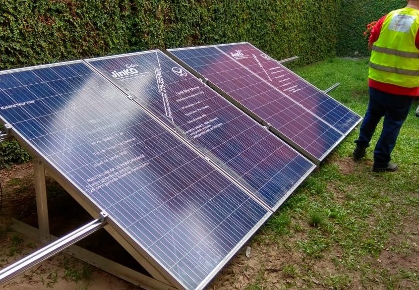 Curso prático de instalação de energia solar em João Pessoa