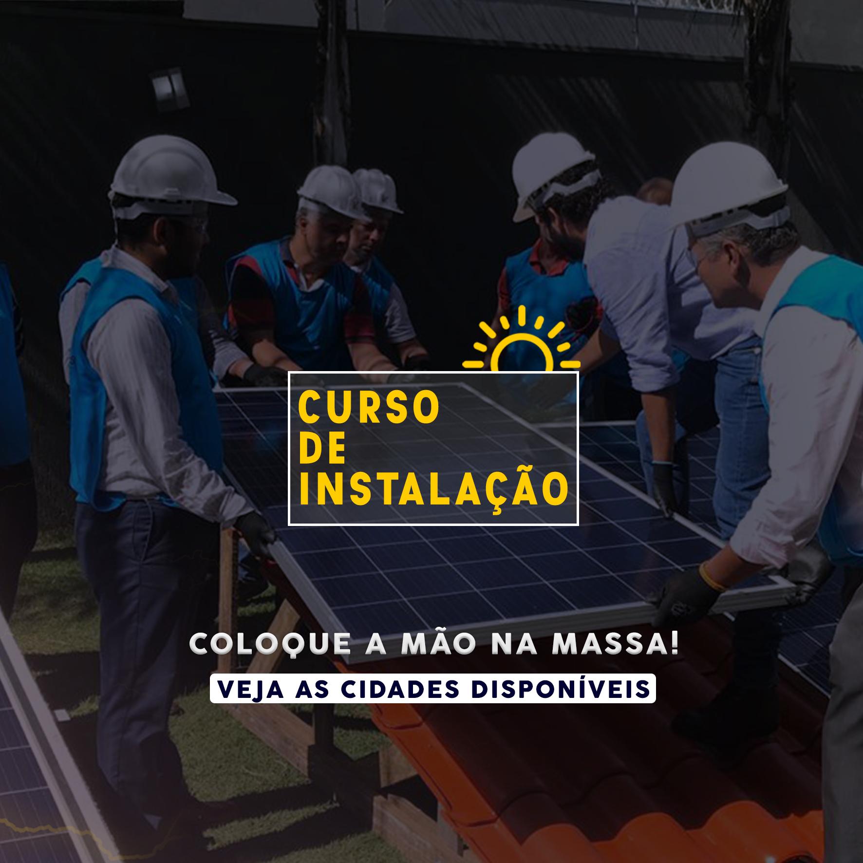 Curso de Instalação de Sistemas Fotovoltaicos