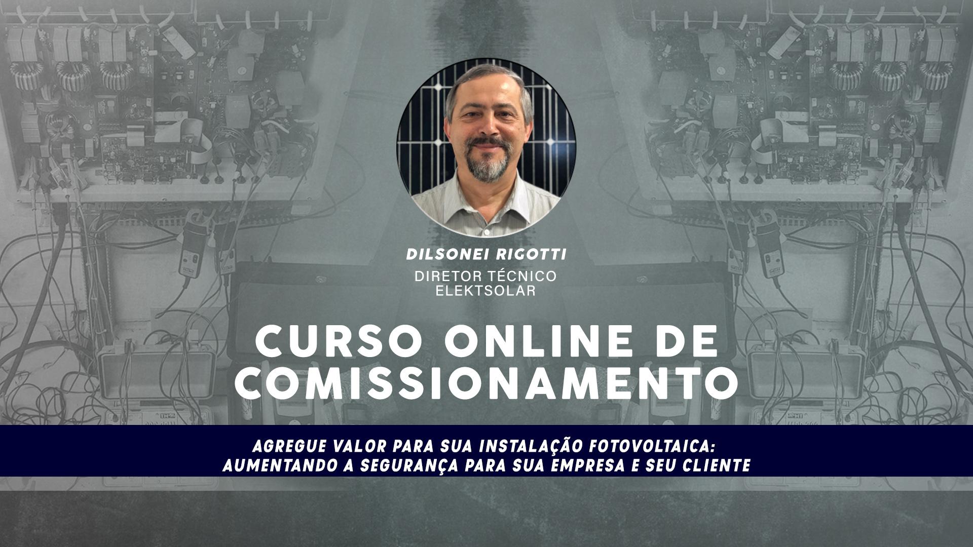 Curso Online de Comissionamento de Usinas